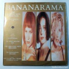 Discos de vinilo: BANANARAMA - THE GREATEST HITS COLLECTION - DOBLE LP. Lote 137746918