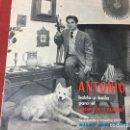 Discos de vinilo: SINGLE ORIGINAL AÑOS 60/70 DISCO BENDRALAN, ANTONIO EL BAILARIN, RARO Y DIFICIL. LOT-A300. Lote 161179905