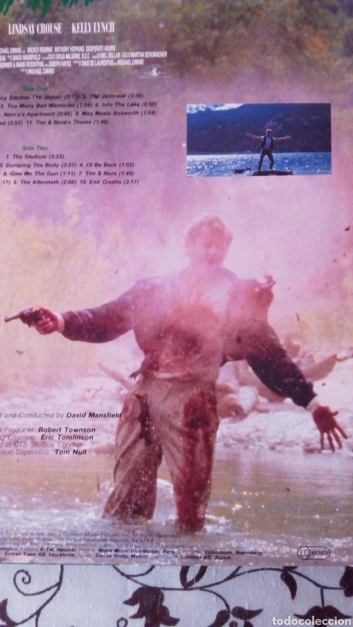 Discos de vinilo: DESPERATE HOURS. HORAS DESESPERADAS. MICHAEL CIMINO. BSO. LP VINILO. DAVID MANSFIELD - Foto 3 - 137748165