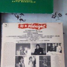 Discos de vinilo: AL FILO DE LA MEDIANOCHE. BSO ORIGINAL. CHARLES BRONSON. LP VINILO. J. LEE THOMPSON. USA. Lote 137748932
