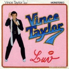 Discos de vinilo: VINCE TAYLOR ?– LUV: MINI LP 10 PULGADAS ED FRANCESA . Lote 137750674