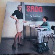Discos de vinilo: S.A.D.O. DIRTY FANTASY LP INSERTO. Lote 137757286