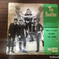 Discos de vinilo: SINGLE DISCO VINILO THE BEATLES ROCK AND ROLL MUSIC +3. Lote 137757290