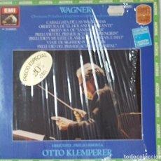 Discos de vinilo: == LP02 - WAGNER - OBERTURAS, PRELUDIOS Y FRAGMENTOS SINFONICOS DE SUS OPERAS - LP DOBLE. Lote 137769954