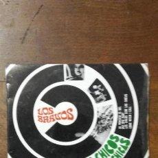 Discos de vinilo: LOS BRAVOS. -LOS CHICOS CON LAS CHICAS - SINGLE. Lote 137772074