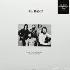 Discos de vinilo: THE BAND / BOB DYLAN * 2LP 180G VIRGIN VINYL *LIVE AT THE PALLADIUM NYC 18 SEPT. * PRECINTADO * RARE. Lote 193437193