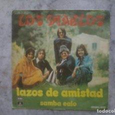 Dischi in vinile: SINGLE. LOS DIABLOS. LAZOS DE AMISTAD - SAMBA EAIO. Lote 137808026