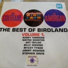 Discos de vinilo: JOHN COLTRANE & LEE MORGAN - THE BEST OF BIRDLAND VOLUME 1 - LP. Lote 137813898
