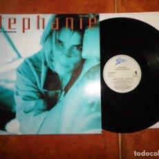 Discos de vinilo: STEPHANIE WINDS OF CHANCE MAXI SINGLE VINILO 1991 ESPAÑA CONTIENE 4 TEMAS PRINCESA DE MONACO. Lote 137814490