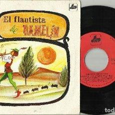 Discos de vinilo: EL FLAUTISTA HAMELIN DISCO CUENTO SINGLE 1971 MARI CARMEN GOÑI. Lote 137819366