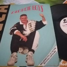 Discos de vinilo: GEORDIE BOYS, RAP GAZZA SINGLE. Lote 137821270