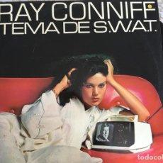 Discos de vinilo: LP RAY CONNIFF-TEMA DE S.W.A.T.. Lote 199940691