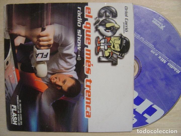 VARIOS - EL QUE MES TRENCA RADIO SHOW 2.59M - CD SINGLE PROMOCIONAL 1999 - TEMPO (Música - Discos - Singles Vinilo - Techno, Trance y House)