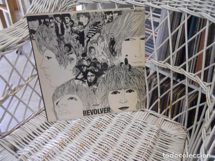 The Beatles – Revolver  lp reed  usa 1976 de lp de 1966 sello capitol