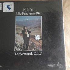 Disques de vinyle: JULIO BENAVENTE DÍAZ. PERÚ: EL CHARANGO DEL CUZCO – FRANCIA (OCORA 1986). RARO. VINILO LP. Lote 137842538
