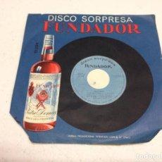 Discos de vinilo: ENRIQUE RIVAS Y SU CONJUNTO VENEZOLANO ?– ASI CANTA HISPANOAMERICA --DISCOS FUNDADOR. Lote 137844934