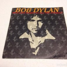 Discos de vinilo: BOB DYLAN - ANIMALS (7-- SINGLE). Lote 137849330