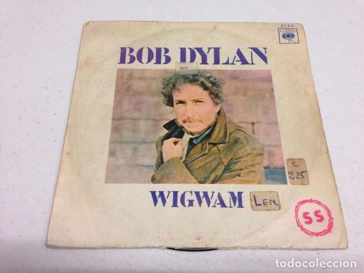 BOB DYLAN - WIGWAM (Música - Discos - Singles Vinilo - Pop - Rock - Extranjero de los 70)