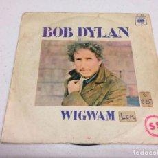 Discos de vinilo: BOB DYLAN - WIGWAM. Lote 137849618
