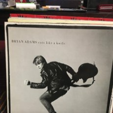 Discos de vinilo: BRYAN ADAMS - CUTS LIKE A KNIFE - LP . Lote 137854930