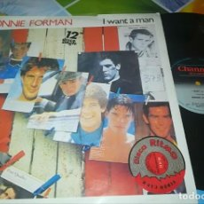 Discos de vinilo: DISCO BONNIE FORMAN - I WANT A MAN PRECIO. Lote 137857806