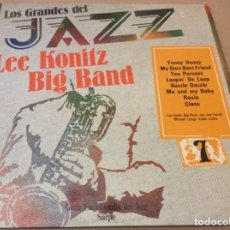 Discos de vinilo: LOS GRANDES DEL JAZZ 7 - LEE KONITZ BIG BAND. SARPE 1980.. Lote 137867390