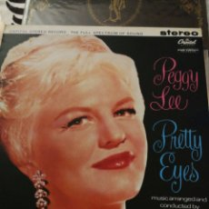 Discos de vinilo: PEGGY LEE LP PRETTY EYES. Lote 137870100
