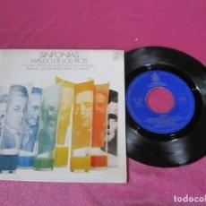 Discos de vinilo: SINFONÍA WALDO DE LOS RIOS SINGLE . Lote 137876866
