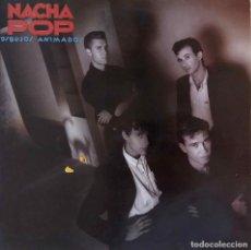 Discos de vinilo: NACHA POP. DIBUJOS ANIMADOS. LP ESPAÑA EDICIÓN ESPECIAL CÍRCULO DE LECTORES. CON FUNDA CON LETRAS. Lote 137878154