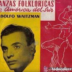Discos de vinilo: ADOLFO WAITZMAN - DANZAS FOLKLORICAS - LP ORPHEO 10' (25 CTMS.) AÑO 1956. Lote 137887194