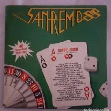 Discos de vinil: LP DOBLE / SANREMO 88 / RCA PL 71664 / 1988 / ITALIA. Lote 137891982