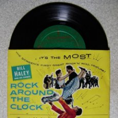 Discos de vinilo: BILL HALEY.ROCK AROUND THE CLOCK..SEE YOU LATER,ALLIGATOR + 3...1ª EDICION ESPÀÑOLA EX. Lote 137901754