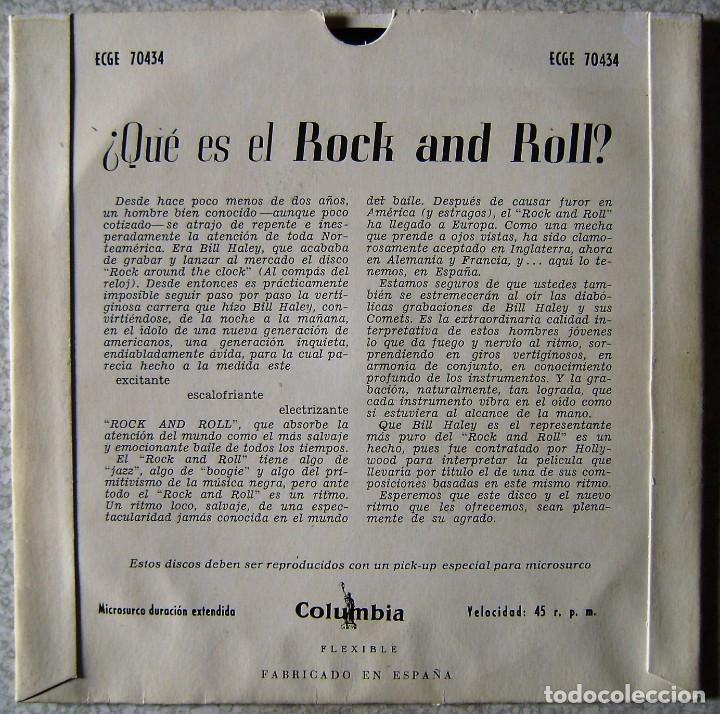 Discos de vinilo: BILL HALEY.ROCK AROUND THE CLOCK..SEE YOU LATER,ALLIGATOR + 3...1ª EDICION ESPÀÑOLA EX..NO OFERTAS - Foto 2 - 137901754