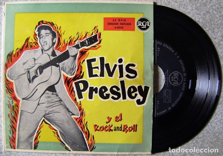 ELVIS PRESLEY Y EL ROCK AND ROLL.ME ABANDONO MI NIÑA + 3.1ª EDICION ESPAÑOLA..EX. (Musik - Vinyl-Schallplatten - EPs - Rock & Roll)