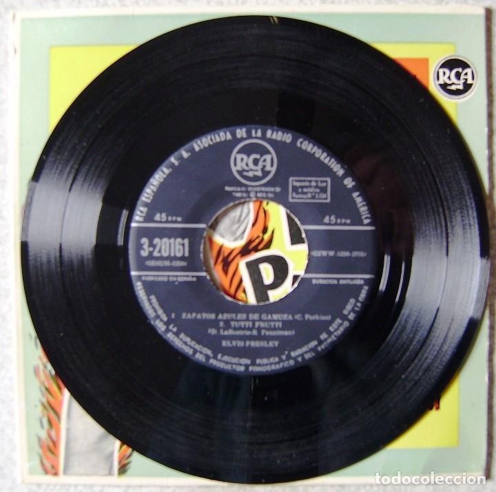 Vinyl-Schallplatten: ELVIS PRESLEY Y EL ROCK AND ROLL.ME ABANDONO MI NIÑA + 3.1ª EDICION ESPAÑOLA..EX. - Foto 4 - 137902094