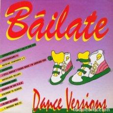 Disques de vinyle: BÁILATE -DANCE VERSIONS . DOBLE LP . 1991 BOY RECORDS . Lote 33556912