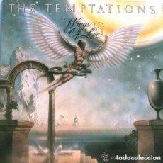 Discos de vinilo: THE TEMPTATIONS, WINGS OF LOVE, LP SPAIN 1974 FUNK , SOUL. Lote 137911358