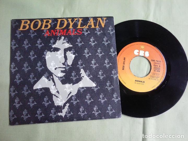 SINGLE VINILO BOB DYLAN - ANIMALS. AÑO 1979. (Música - Discos - Singles Vinilo - Pop - Rock - Extranjero de los 70)