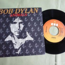 Discos de vinilo: SINGLE VINILO BOB DYLAN - ANIMALS. AÑO 1979.. Lote 137916342