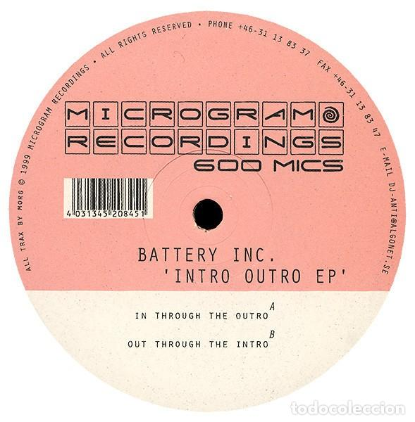 BATTERY INC. ?– INTRO OUTRO EP,,PSY-TRANCE, GOA TRANCE (Música - Discos - LP Vinilo - Techno, Trance y House)