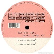 Discos de vinilo: BATTERY INC. ?– INTRO OUTRO EP,,PSY-TRANCE, GOA TRANCE. Lote 137921590
