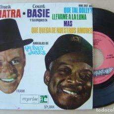 Discos de vinilo: FRANK SINATRA & COUNT BASIE - QUE TAL DOLLY - EP 1964 - REPRISE. Lote 137924906