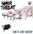 Discos de vinilo: LP MINOR THREAT OUT OF STEP VINILO PUNK HARDCORE . Lote 137936026