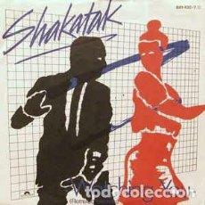 Discos de vinilo: SHAKATAK - WATCHING YOU (7, SINGLE) LABEL:POLYDOR CAT#: 881 432-7 . Lote 137937634