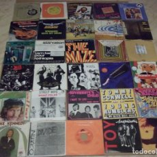 Discos de vinilo: LOTE DE 80 SINGLES Y EP- MUSICA VARIADA INTERNACIONAL Y NACIONAL. Lote 137939562