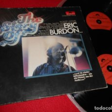 Discos de vinilo: ERIC BURDON THE STORY OF ERIC BURDON 2LP 1977 POLYDOR GATEFOLD EDICION ALEMANA GERMANY. Lote 137945466