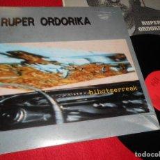 Discos de vinilo: RUPER ORDORIKA BIHOTZERREAK LP 1985 ELKAR EDICION ESPAÑOLA SPAIN. Lote 137945678