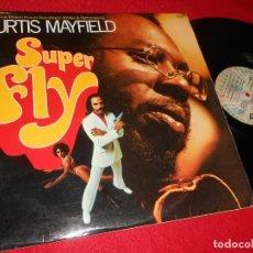 Discos de vinilo: SUPERFLY BSO OST CURTIS MAYFIELD LP 1972 BUDDAH RECORDS EDICION FRANCESA FRANCE. Lote 137946030