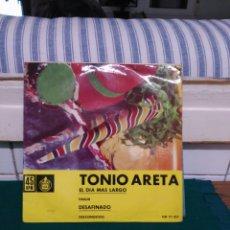 Discos de vinilo: TONIO ARETA, HISPAVOX 1962 EP. Lote 137946274