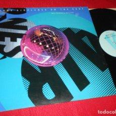 Discos de vinilo: PHILIP GLASS 1000 AIRPLANES ONB THE ROOF LP 1989 EDICION UK. Lote 137946578